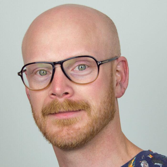 Joel Larsson, kontrabasist i Musica Vitae