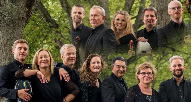 Porträttfotografi av orkestermedlemmarna i Musica Vitae