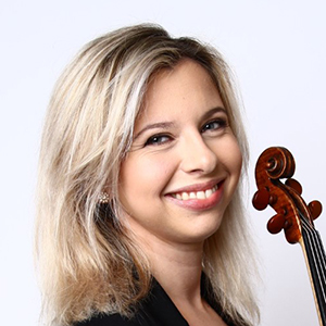 Victoria Stjerna, violinist i Musica Vitae